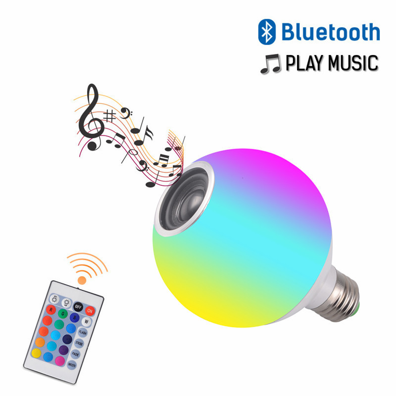 led bluetooth music light dragon ball bubble APP model with white light remote control colorful RGB